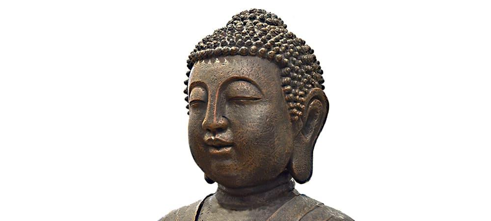 signification visage divinite bouddhiste