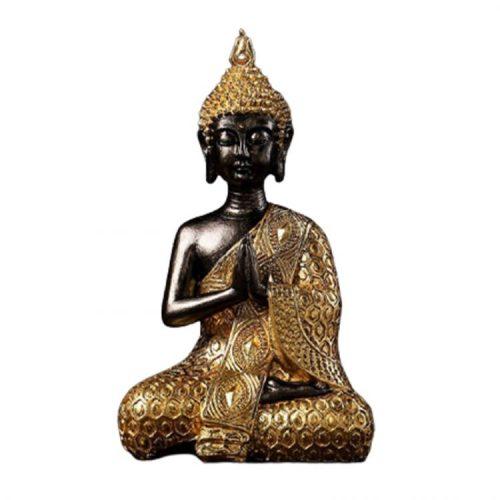 Statue Bouddha qui prie