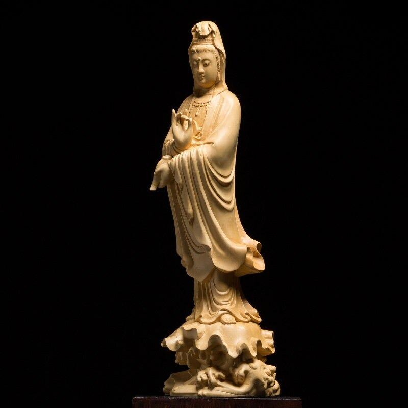 Statue Bouddha karana mudra