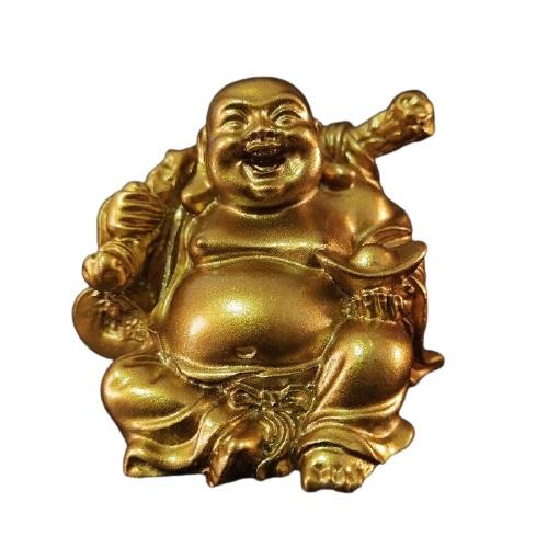 Statue Bouddha rieur pour jardin