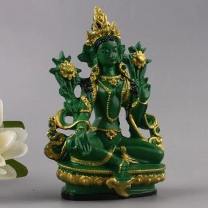 Statue bouddhiste femme