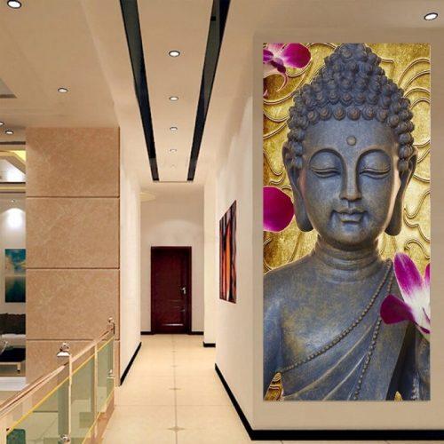 Tableau Bouddha de méditation