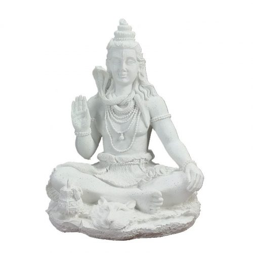 Statue Bouddha blanc