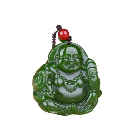 Pendentif Bouddha jade