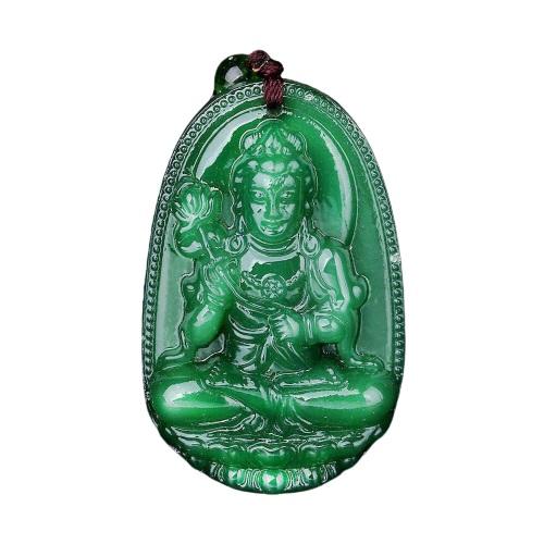 Pendentif Bouddha pierre de jade