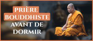Read more about the article Prière bouddhiste avant de dormir