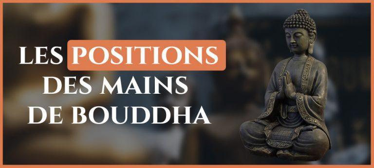Read more about the article La signification de la position des mains de Bouddha (Mudra)