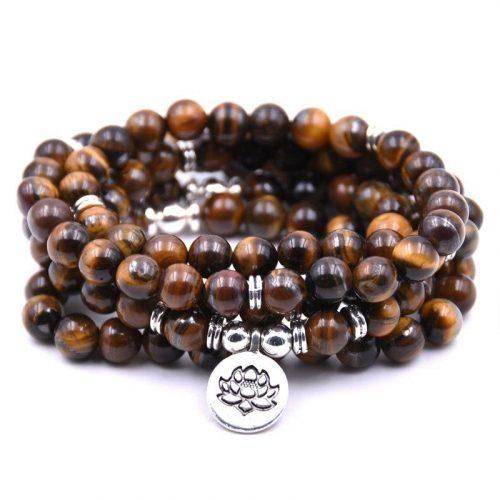 Collier bouddhiste en perle