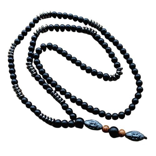 Collier de prière bouddhiste